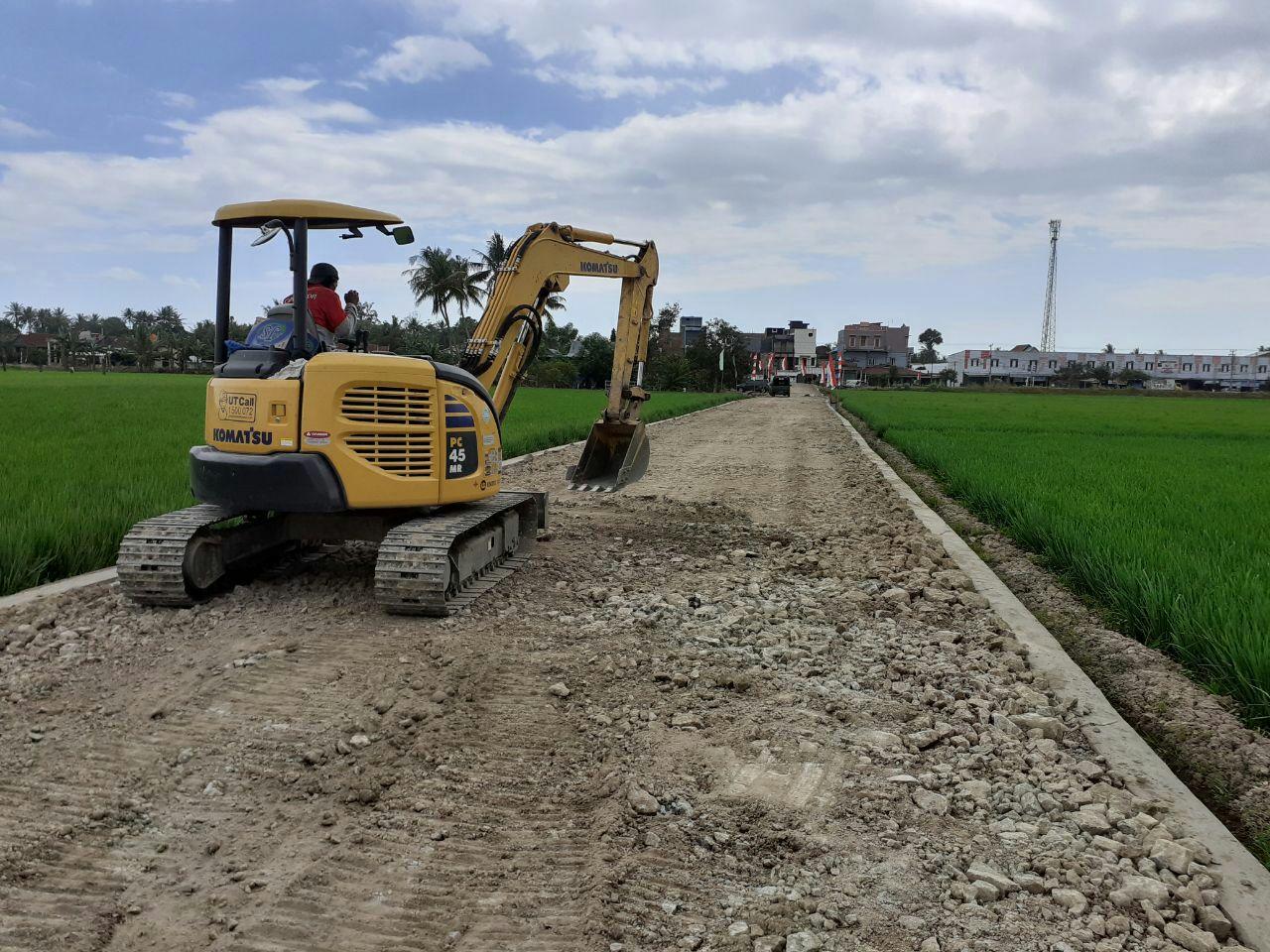 Horeee, Masyarakat Mulai Menikmati Jalan Program TMMD Kodim 1404/Pinrang