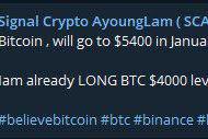 SCAL Signal Crypto Ayoungscam Lam Pasti Bangkrut