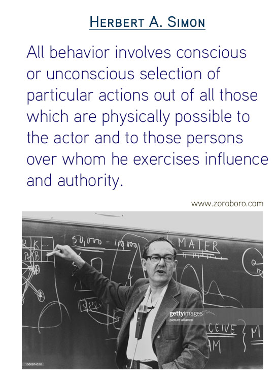 Herbert A. Simon Quotes. Artificial-intelligence Quotes, Psychology, Science Quotes, Simplicity Quotes, Attention Quotes, and Information Quotes, (economist) Herbert Simon Inspirational Quotes