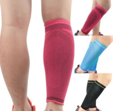 calf compression sleeve - for recovery from Grade 2 calf strain