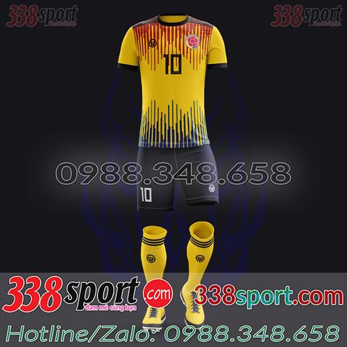 Áo Đội Tuyển Colombia Đặt May Theo Yêu Cầu - Mã COLOMBIA 04