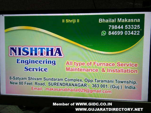 NISHTHA ENGINEERING SERVICE - 7984453325 8469903422