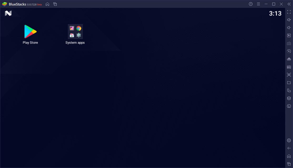 BlueStacks App Player 5.0.0.7228