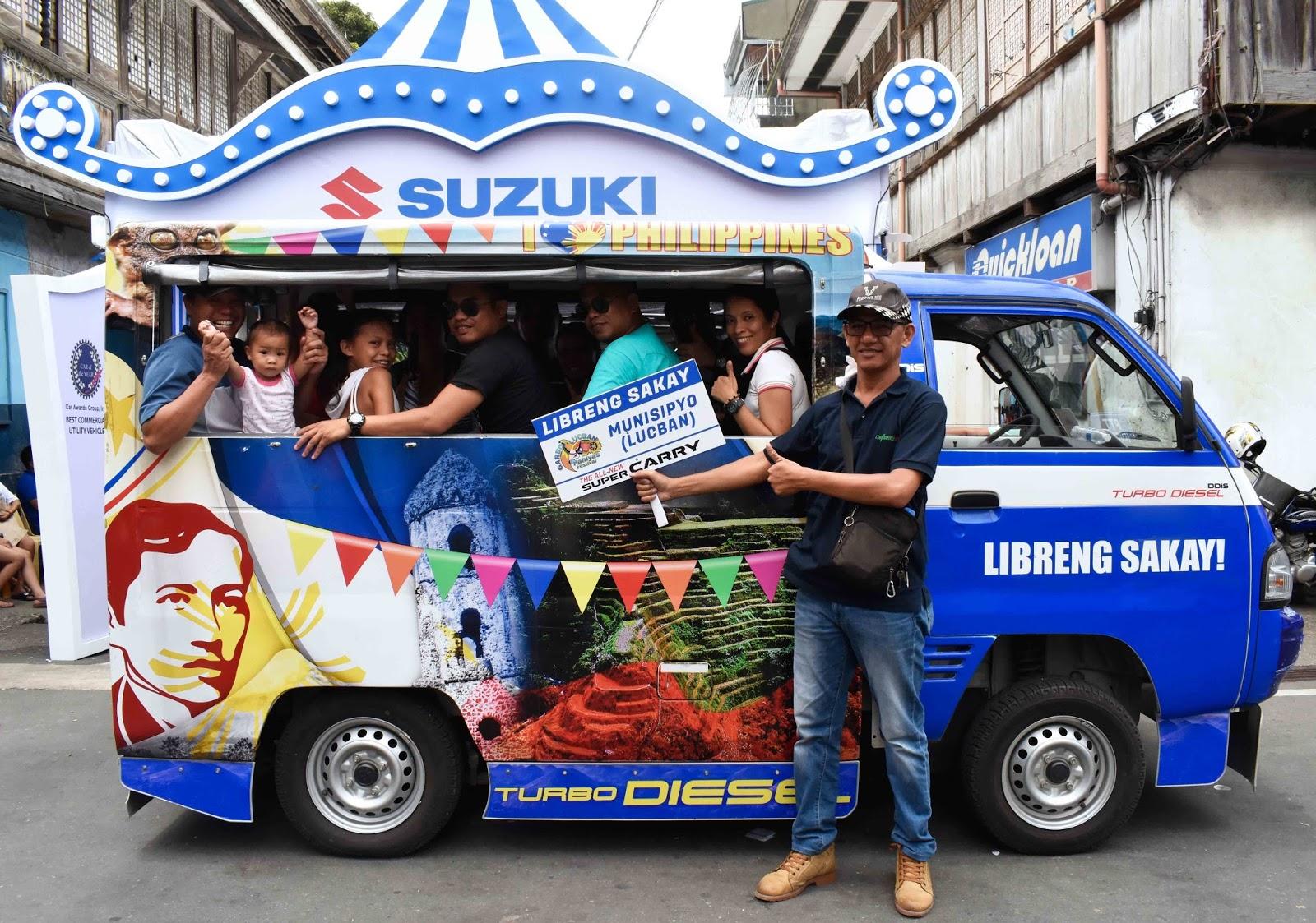 Suzuki's 'Libreng Sakay'