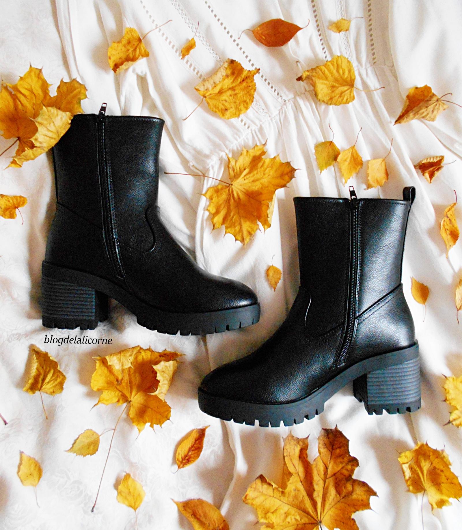 Bonprix jesenne cizmy
