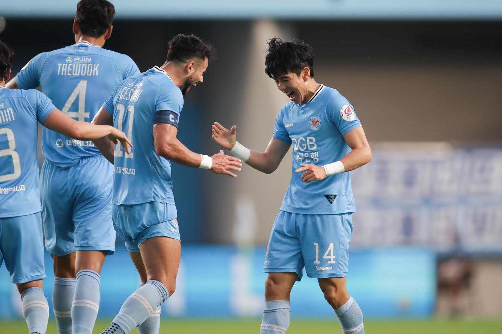 Cesinha, Kim Dae-won, Daegu FC