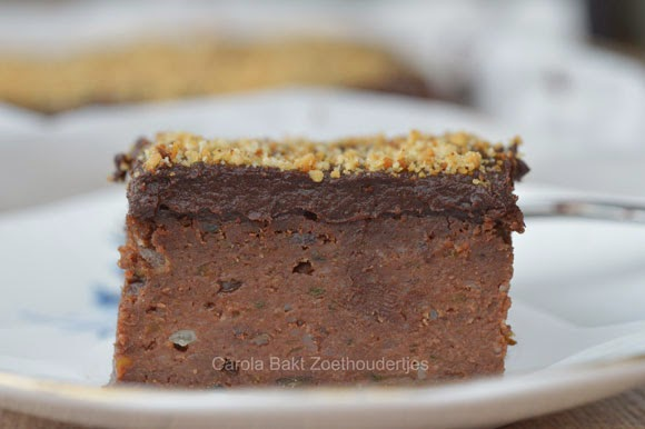 Gezonde double chocolate brownies