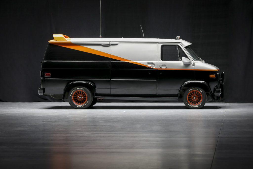 Ein offiziell lizensierter 1979 Chevrolet 'A-Team' Van wird versteigert | Die Chance ein Stück Hollywood-Geschichte zu besitzen steigt wieder