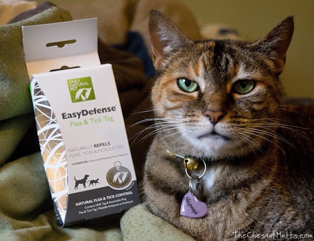 Mini Review: Only Natural Pet EasyDefense Flea & Tick Tag