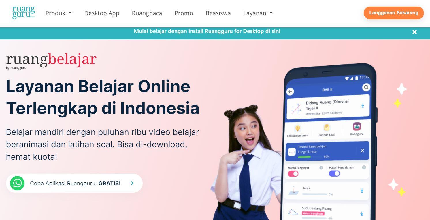 belajar online termurah