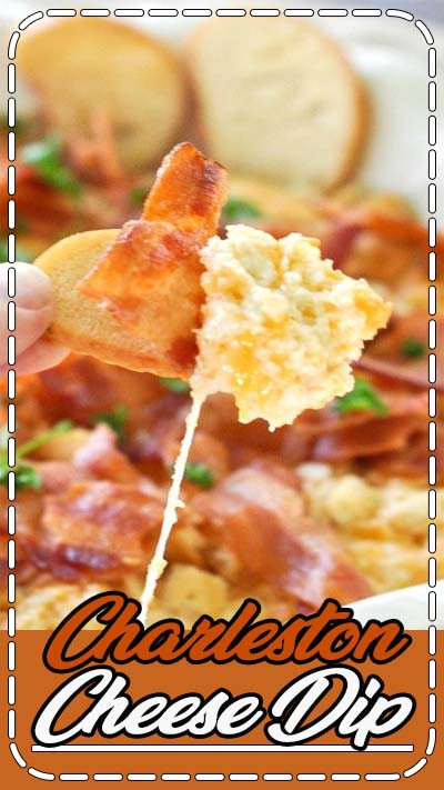 A super-easy and very tasty dip is full of cheesy, bacon-y flavor. It goes together in just minutes and is sure to please at your next party!