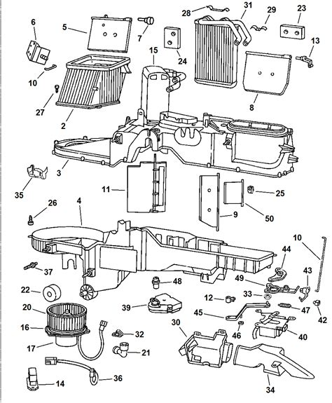Wiring Diagram Blog: 1997 Jeep Grand Cherokee Hvac Wiring