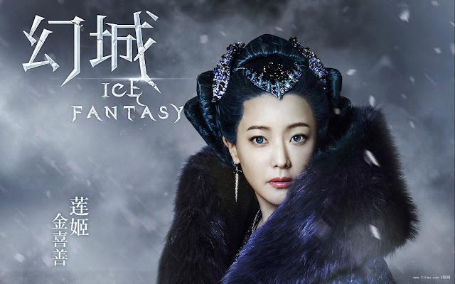 Kim Hee Sun in Ice Fantasy, a Chinese fantasy drama