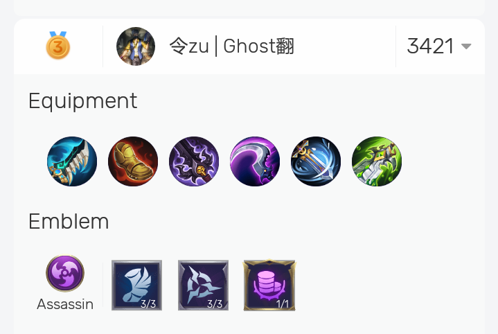 Best Build Hanzo Mobile Legends from Top Global 2021