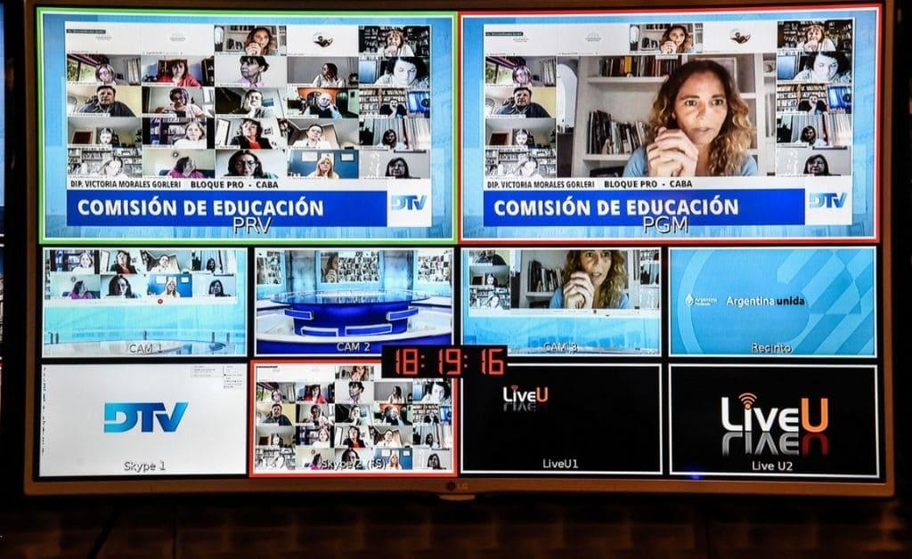 Comisión de Educación de Diputados trata proyecto sobre apoyo escolar durante la pandemia