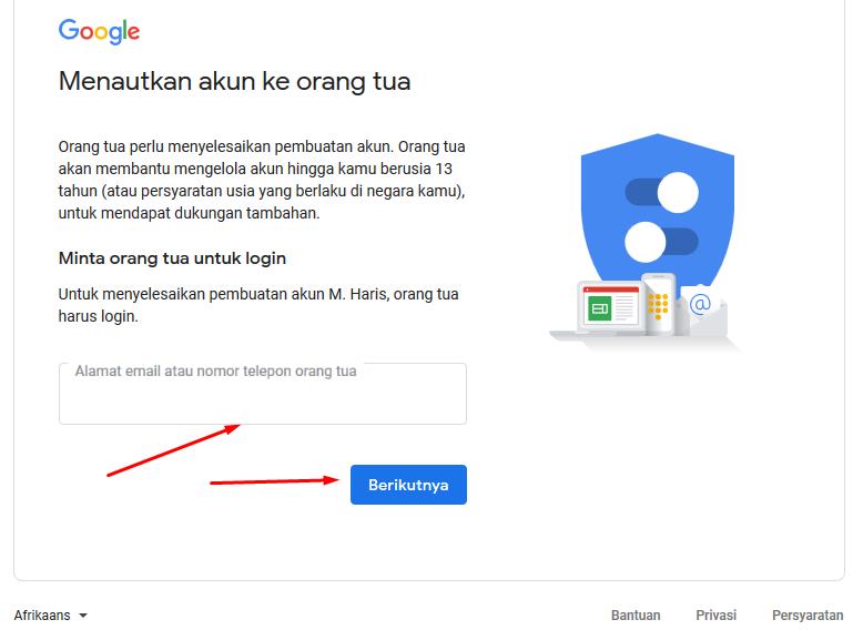 cara buat akun gmail tanpa no hp 100