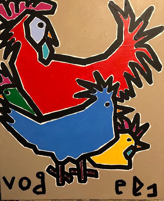 De kippen van Frans Vogels