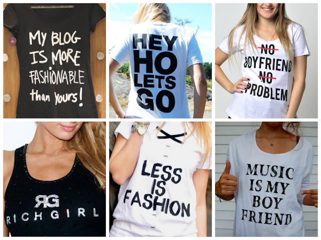 Resultado de imagem para camisetas escritas