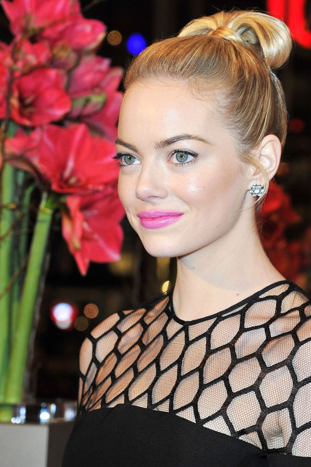 Emma Stone Yum : stone, Let's, About, Non-Blonde