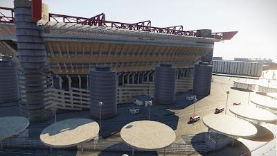 PES 2020 Stadium Exterior View Giuseppe Meazza by Jostike