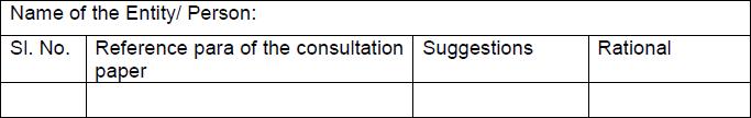 SEBI Consultation Papers