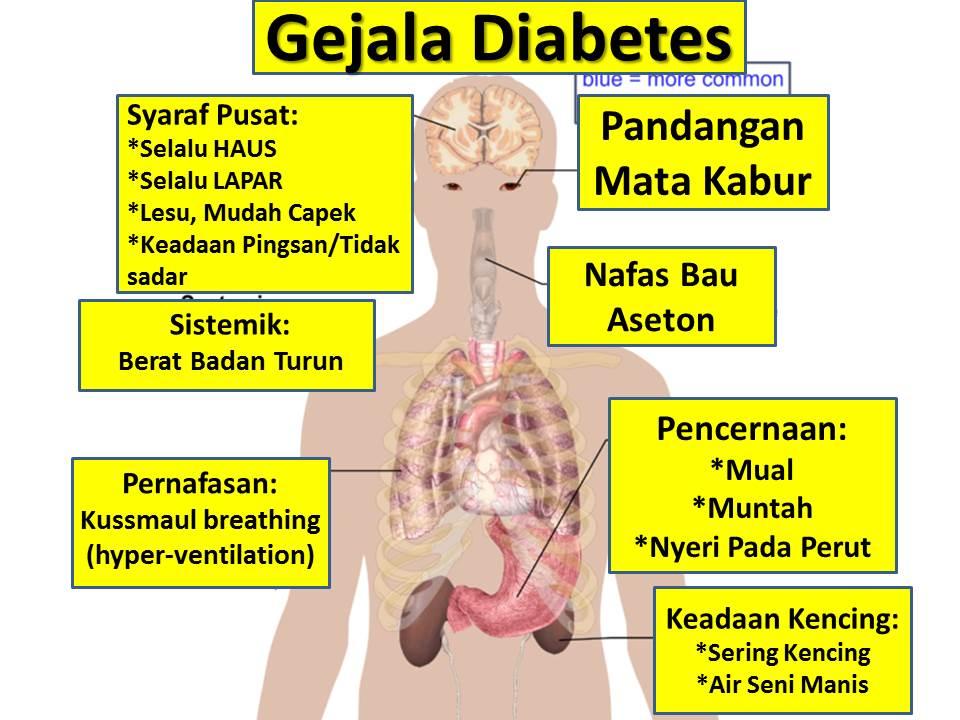 ciri penyakit diabetes dan pengobatannya