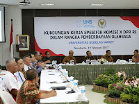 UNS Terima Kunjungan Komisi X DPR RI