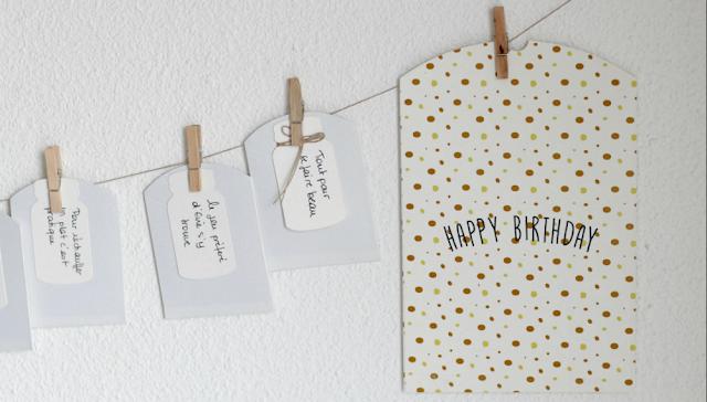 Calendrier de l'avent anniversaire blogueuse bordeaux agathe diary