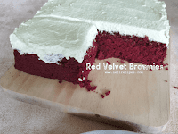 Resep Red Velvet Brownies