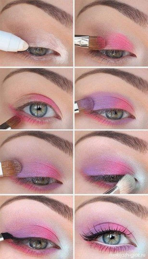5 STEP BY STEP TRICK TO EYE MAKEUP (PICTURE TUTORIALS