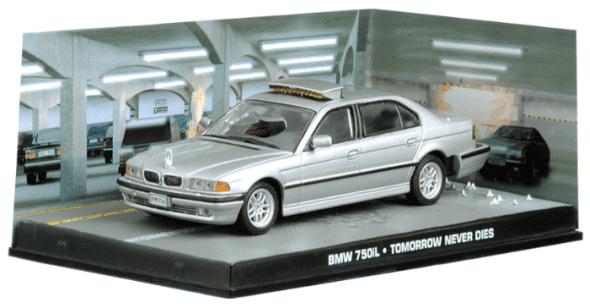 BMW 750iL - Tomorrow never dies 1:43 colección james bond