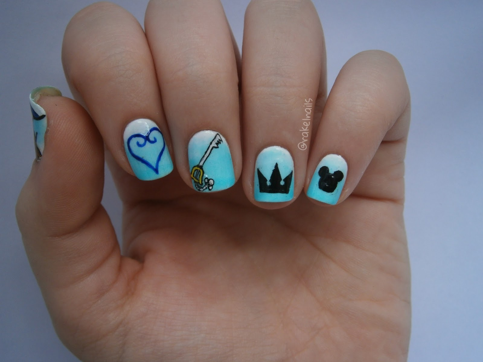 Kingdom Hearts Nails | Best Nail Designs 2018