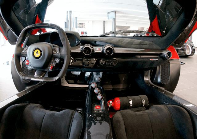 Ferrari LaFerrari interior POV