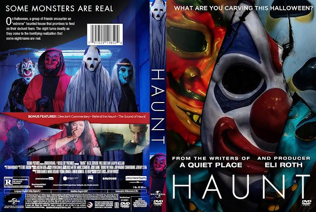 Haunt DVD Cover