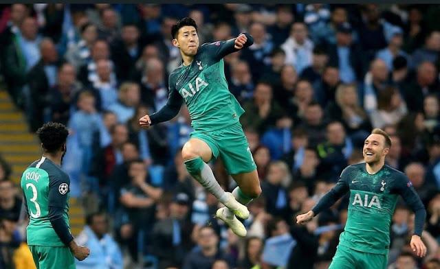 توتنهام في نصف نهائي دوري أبطال أوروبا بعد إقصاء مانشستر سيتي