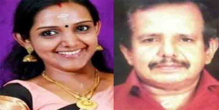 Manjusha Mohandas father died in road accident, Perumbavoor, News, Accidental Death, Idea Star Singer, Daughter, Kerala.