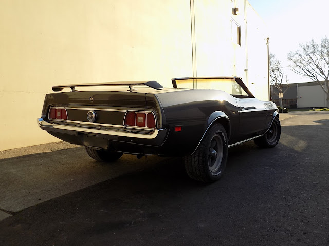 1973 Mustang with body work and paint from Almost Everything Auto Body.