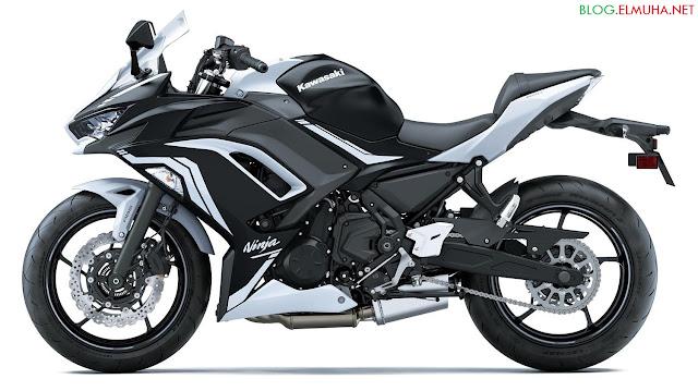 Kawasaki Ninja 650 2020 hitam putih