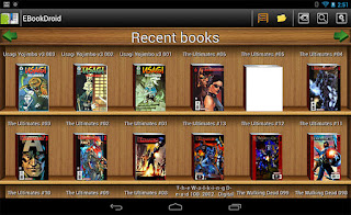 EBookDroid app leer comics en android