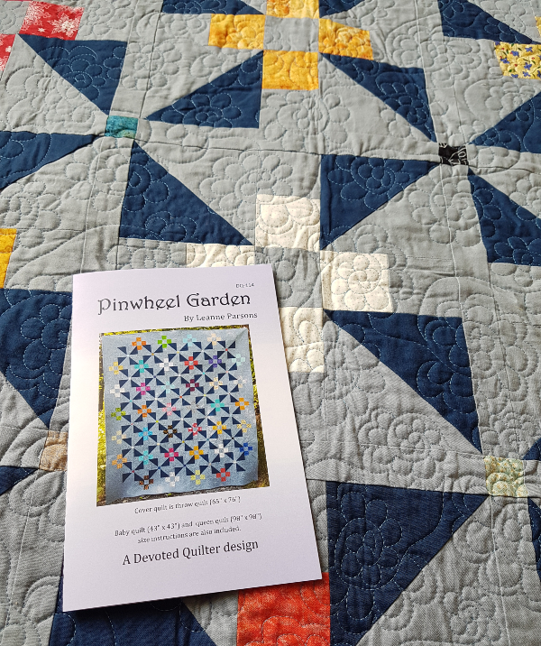Pinwheel Garden quilt pattern | DevotedQuilter.com