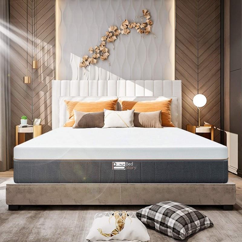 30%off BedStory 12inch gel memory foam mattress