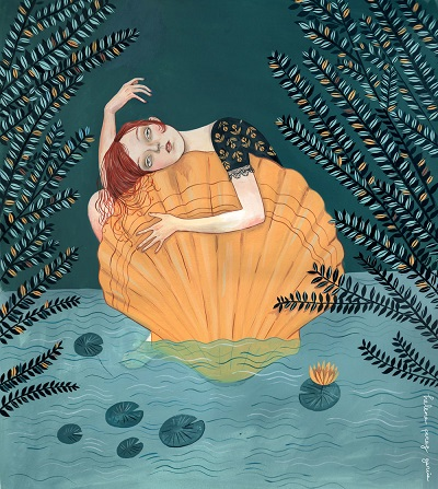"""The blue lagoon"" - Helena Perez Garcia 