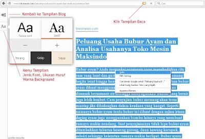 Cara Mengcopy Artikel yang Tidak Bisa Dicopy di Mozilla Firefox