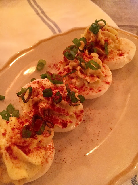 The Deviled Eggs were the best I have had since my Momma's.