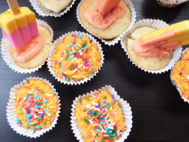 Pudding Pop Cupcakes