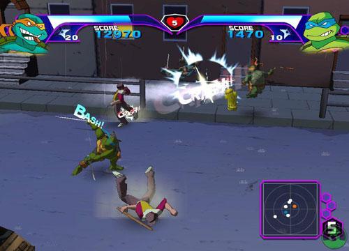 لعبة سلاحف النينجا TMNT