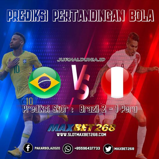 Prediksi Peru Vs Brasil, Rabu 14 Oktober 2020 Pukul 07.00 WIB @ Mola TV