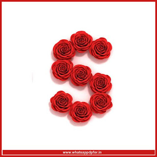 s letter images in heart hd download