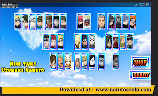Naruto Senki Ultimate Bonaru Battle Mod by KZ Apk