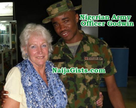 dutch woman living germany nigerian army officer